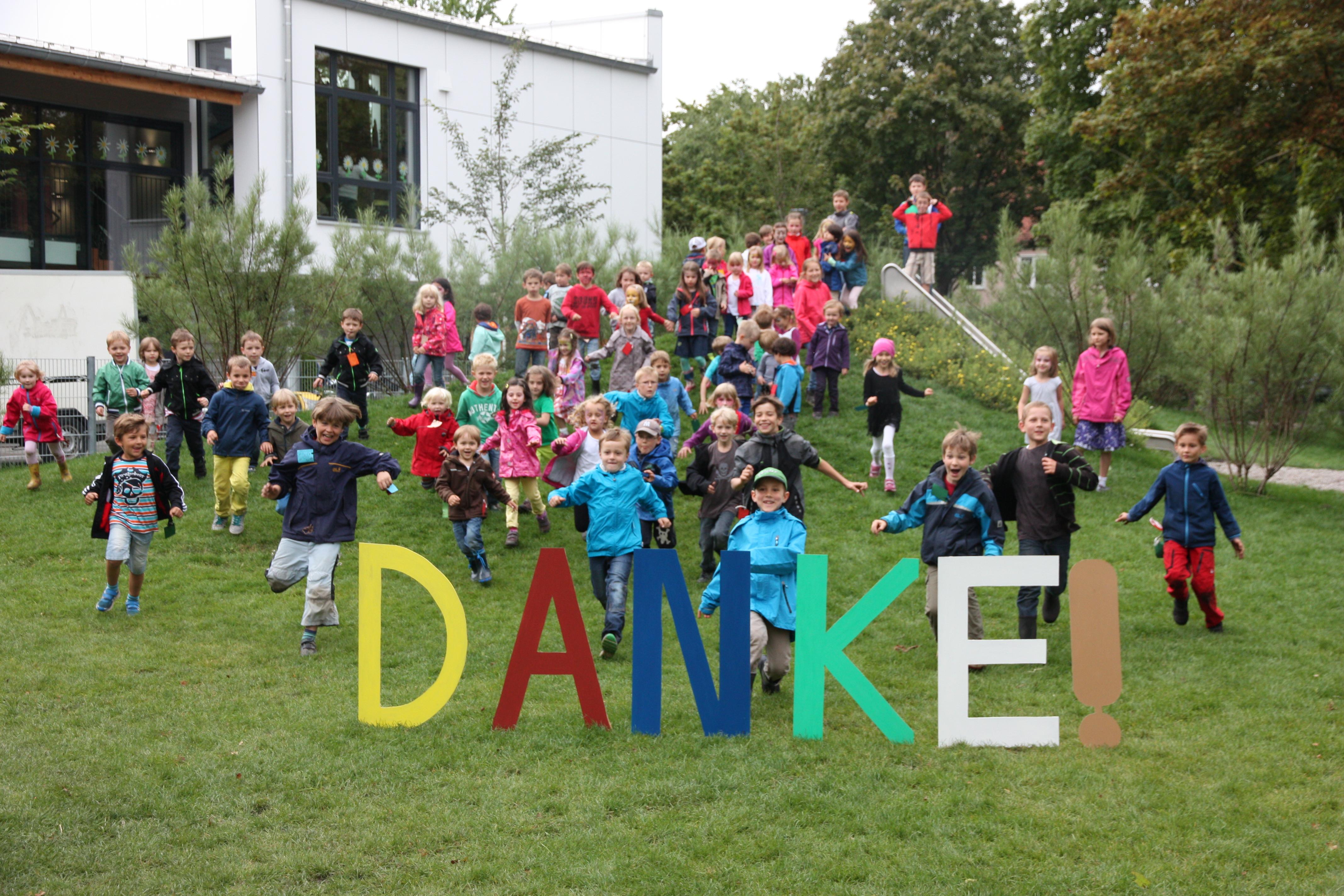 100 Kindergarten Kinder Sagen Danke Kinderspielraum Ev